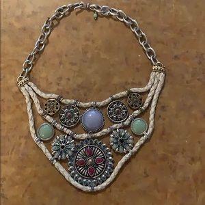 Lucky bran necklace/ choker